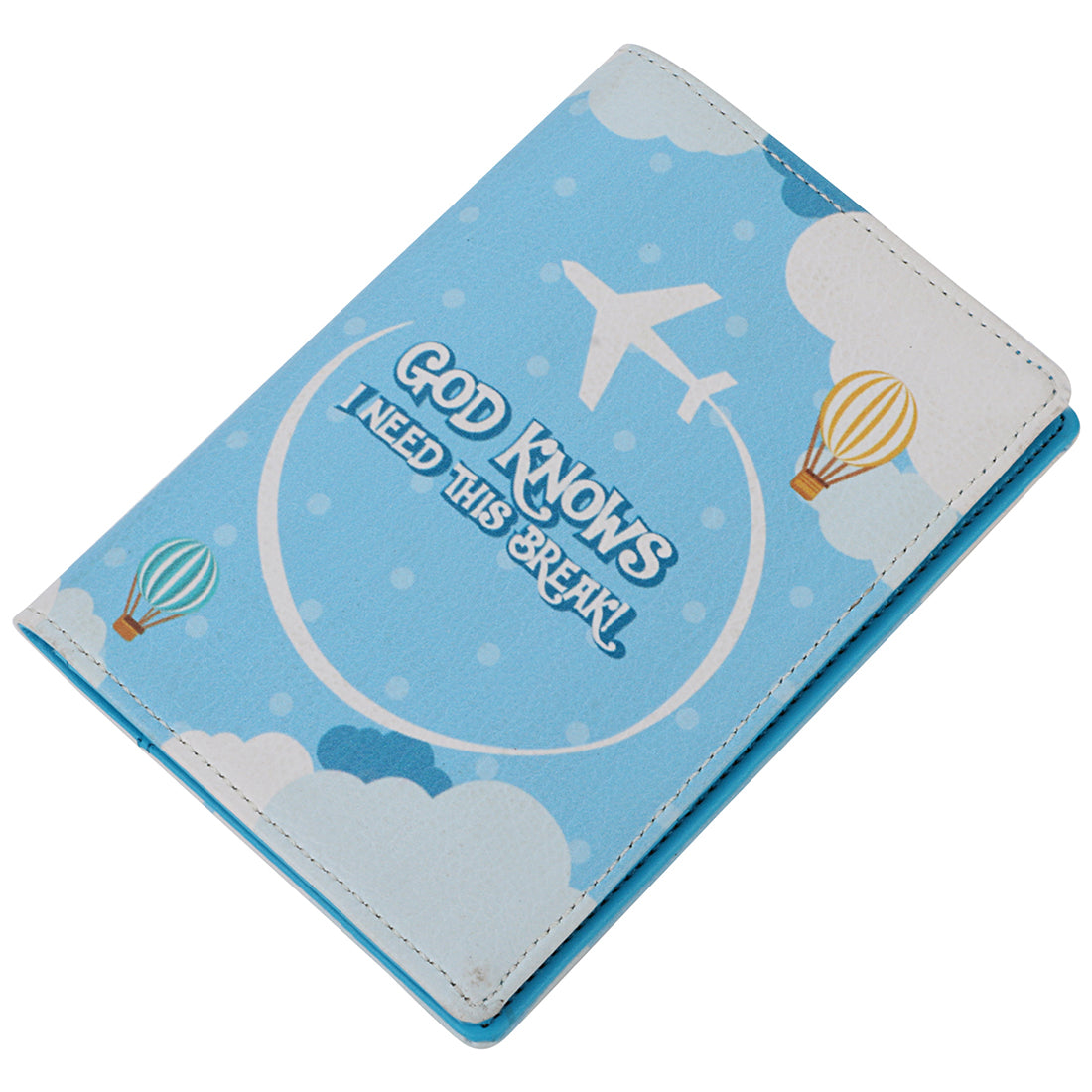 God Knows Passport Wallet