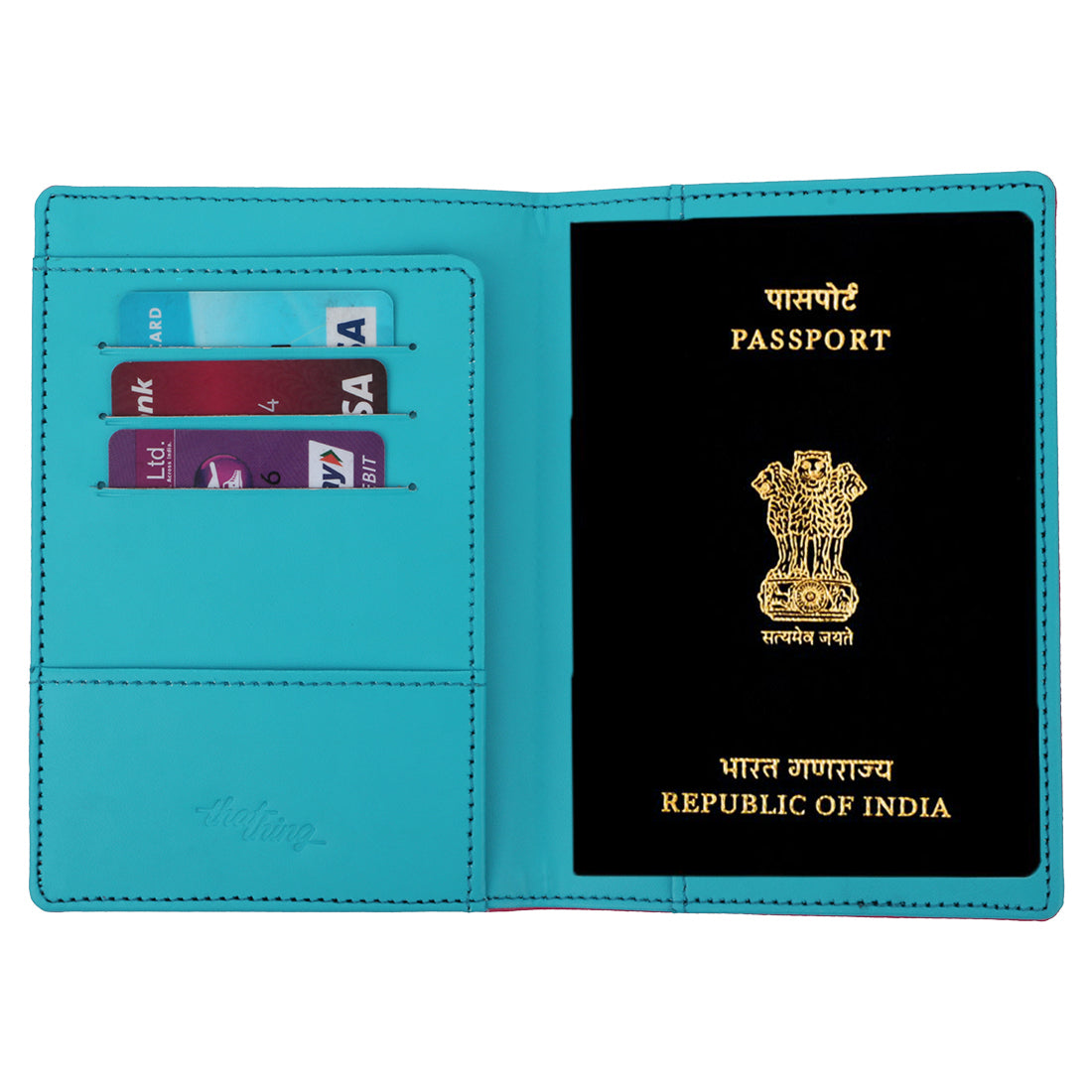 Cloud 9 Pink Passport Wallet