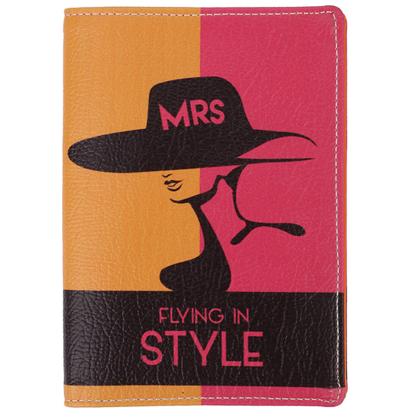 Mrs. Flying in Style Passport Wallet