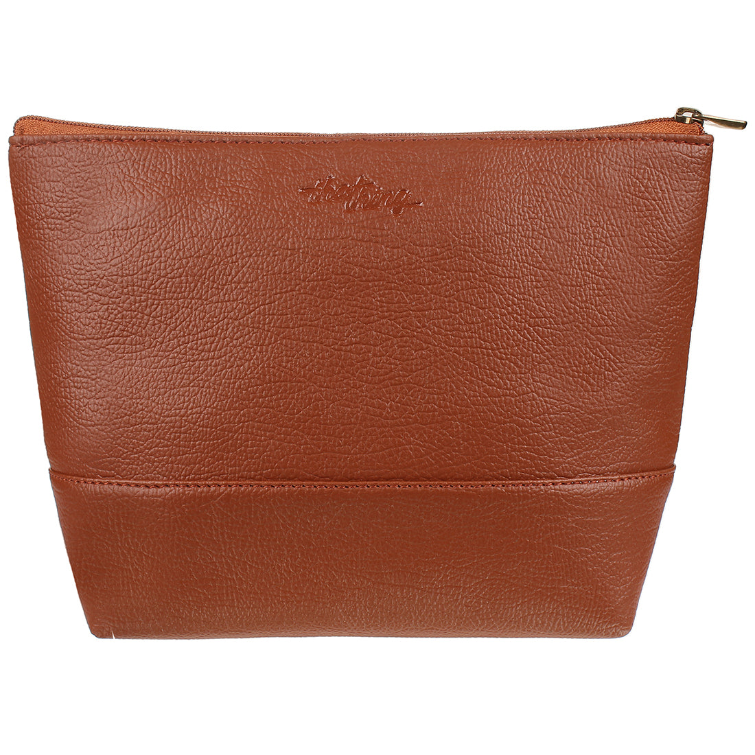 Brown Color Makeup Pouch