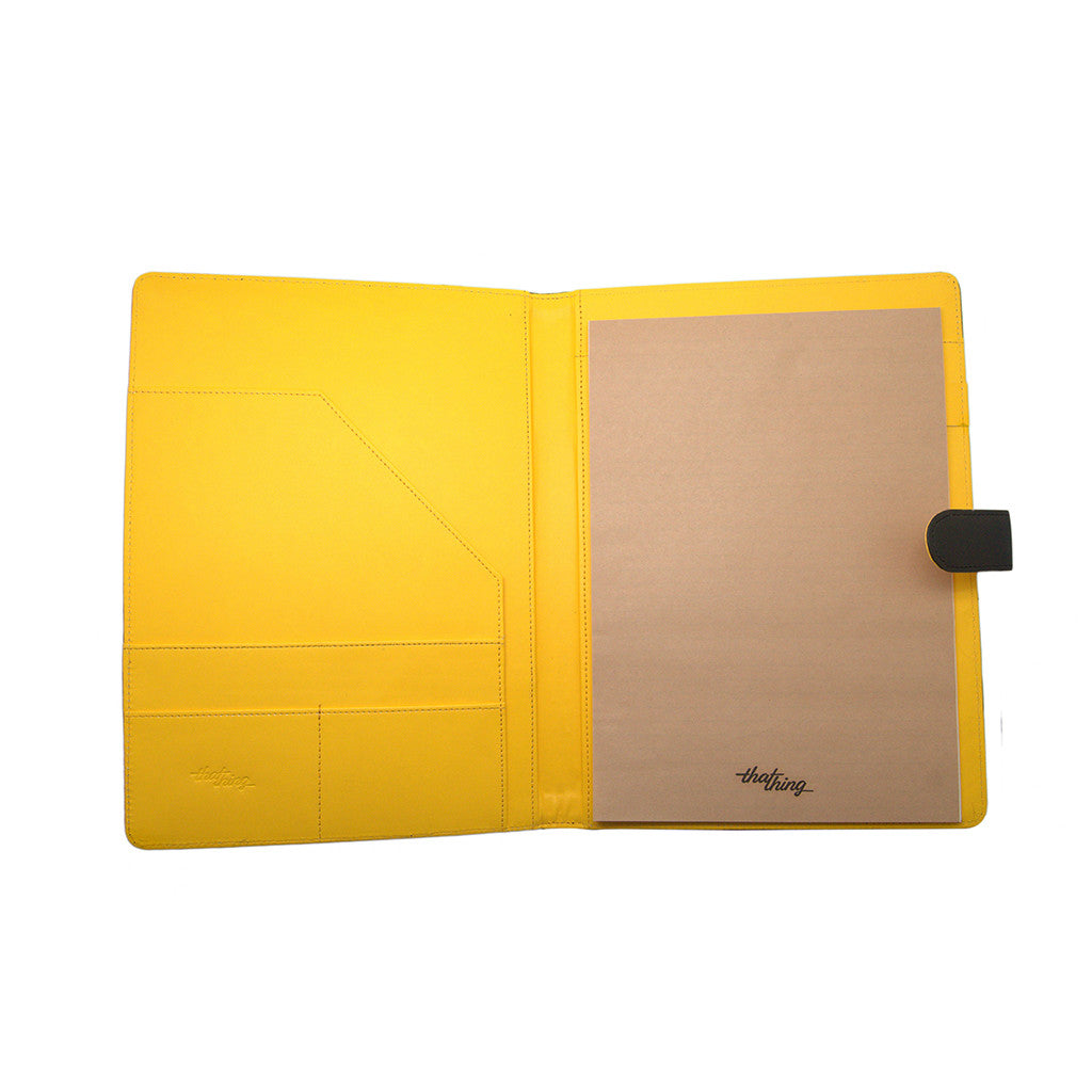 Yellow Folder A4 Notepad Thathing_Inside