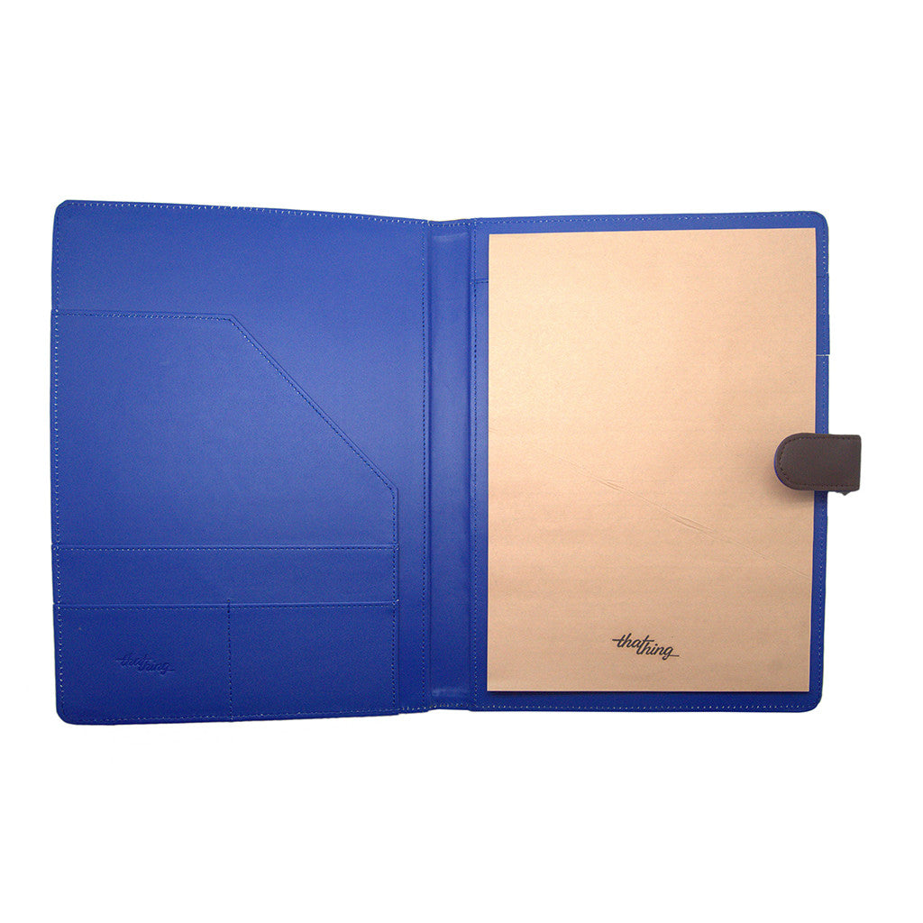 Blue Folder A4 Notepad Thathing_Inside