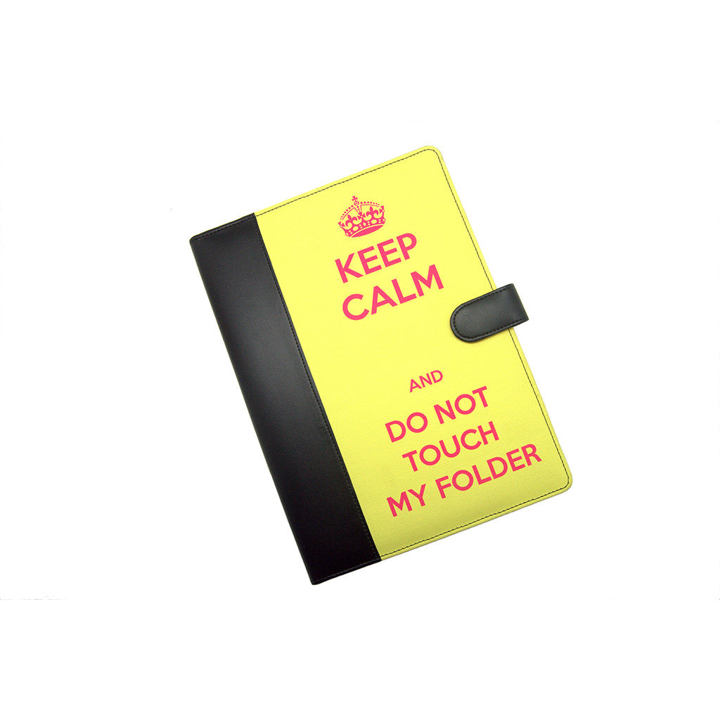 Yellow Folder A4 Keep Calm Thathing_Main