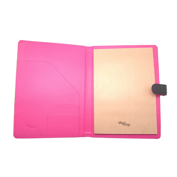 Pink Folder A4 Notepad Thathing_Inside