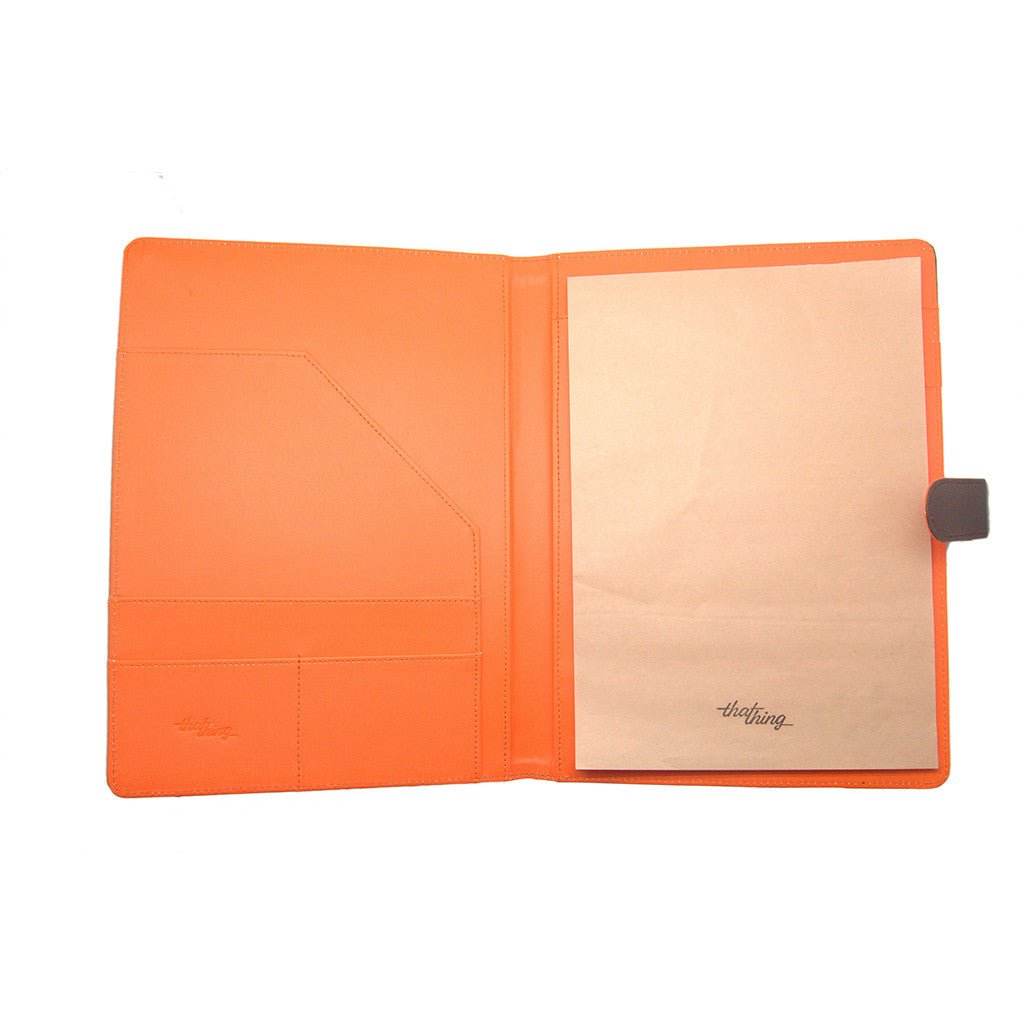 Orange Folder A4 Notepad Thathing_Inside