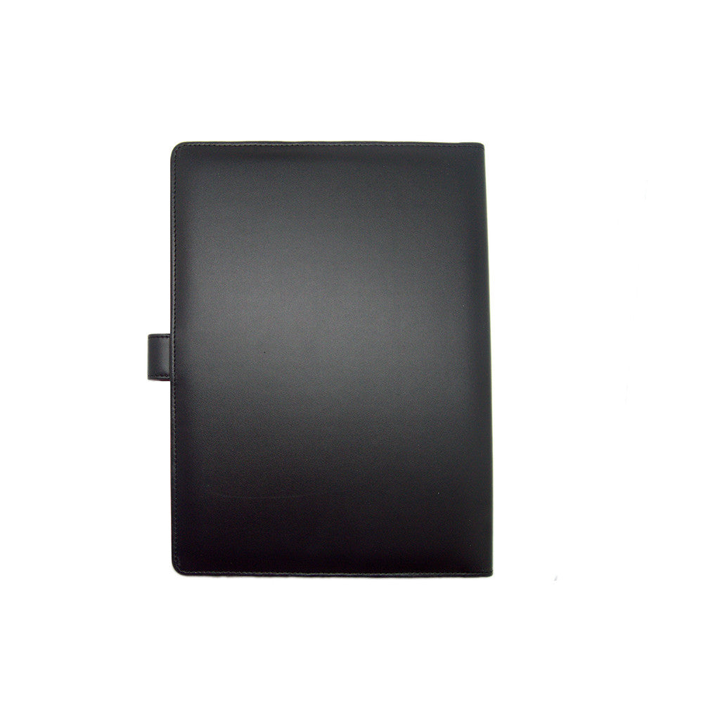 Black Folder A4 Touch Me Not Thathing_Back