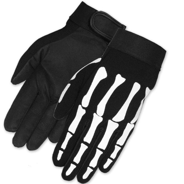 [HOT LEATHERS] SKELETON MECHANIC GLOVES (スケレトンメカニックグローブ)