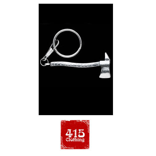 [415 CLOTHING]「Hammer Key Chain」or 「Fire Axe Key Chain」しろめ製品