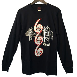 [415 CLOTHING] 415クロージング 666 Bridge L/S T-shirt 長袖