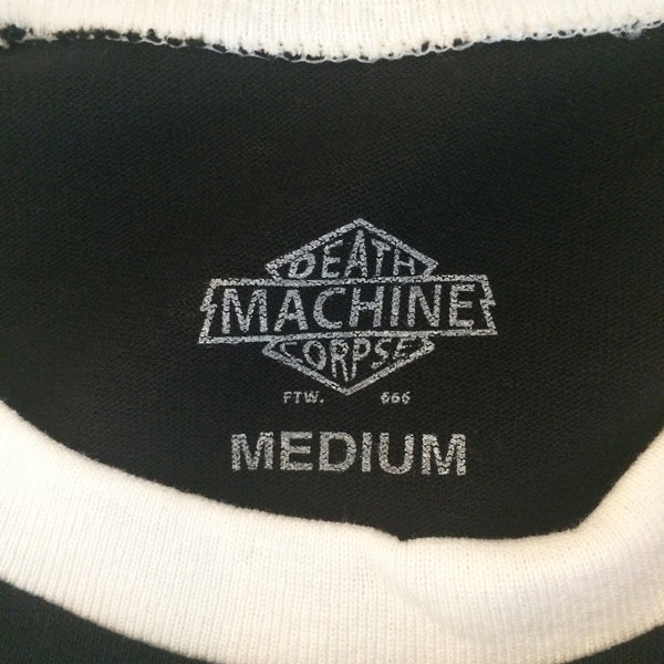 [Death Machine] デス マシーン Chain Lynched Baseball Tee (チェーンリンチッド)