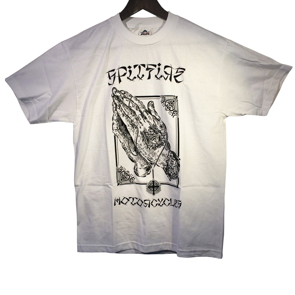 [Spitfire Motorcycles] Rosary S/S Tee (ロザリ 半袖 Tシャツ) 「ホワイト」