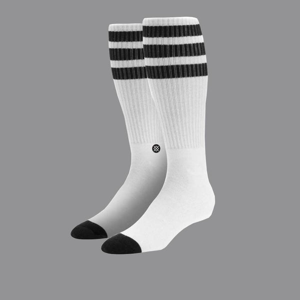 [STANCE SOCKS] Boneless Pipe Bomb Crew Socks Black (ボーンレス ソックス)