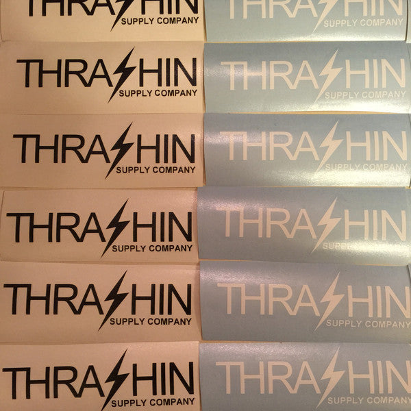 [Thrashin Supply Co.] TSC Original Stickers (TSC オリジナル ステッカー) 黒 or 白