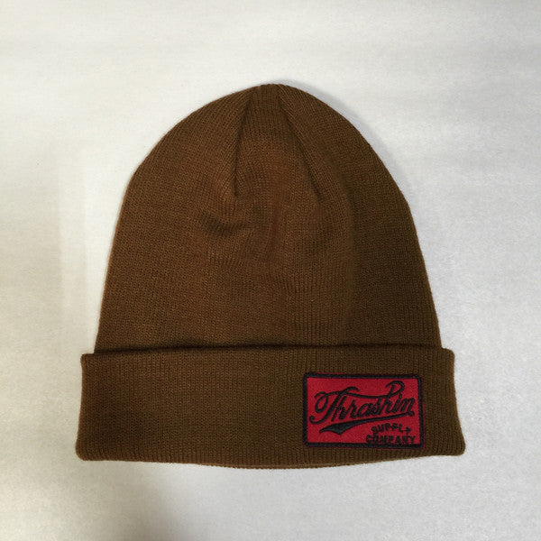 [Thrashin Supply Co.] Cursive Beanie カーシーブ ビーニー 3色