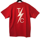 [Thrashin Supply Co.] Pocket-T Red ポケット Tシャツ レッド