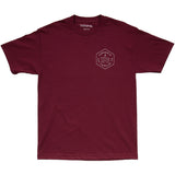 [Thrashin Supply Co.] Gas+Oil Tee Maroon ガス+オイル Tシャツ マルーン