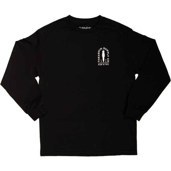 [Thrashin Supply Co.] Spark Plug L/S T-shirt スパークプラグ 長袖 Tシャツ