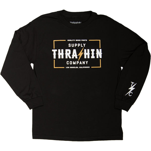 [Thrashin Supply Co.] Stamp L/S T-shirt スタンプ 長袖 Tシャツ