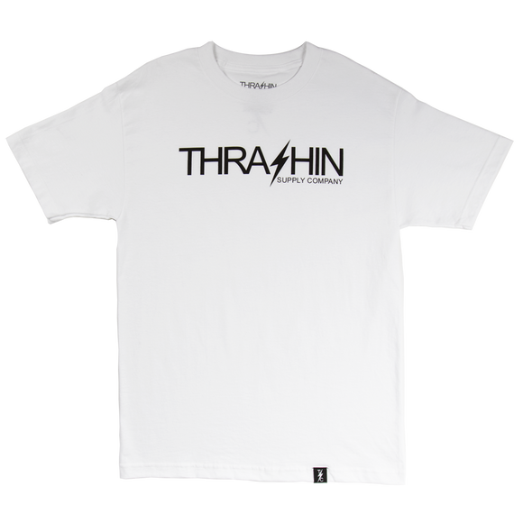 [Thrashin Supply Co.] Classic Tee White クラシック Tシャツ ホワイト