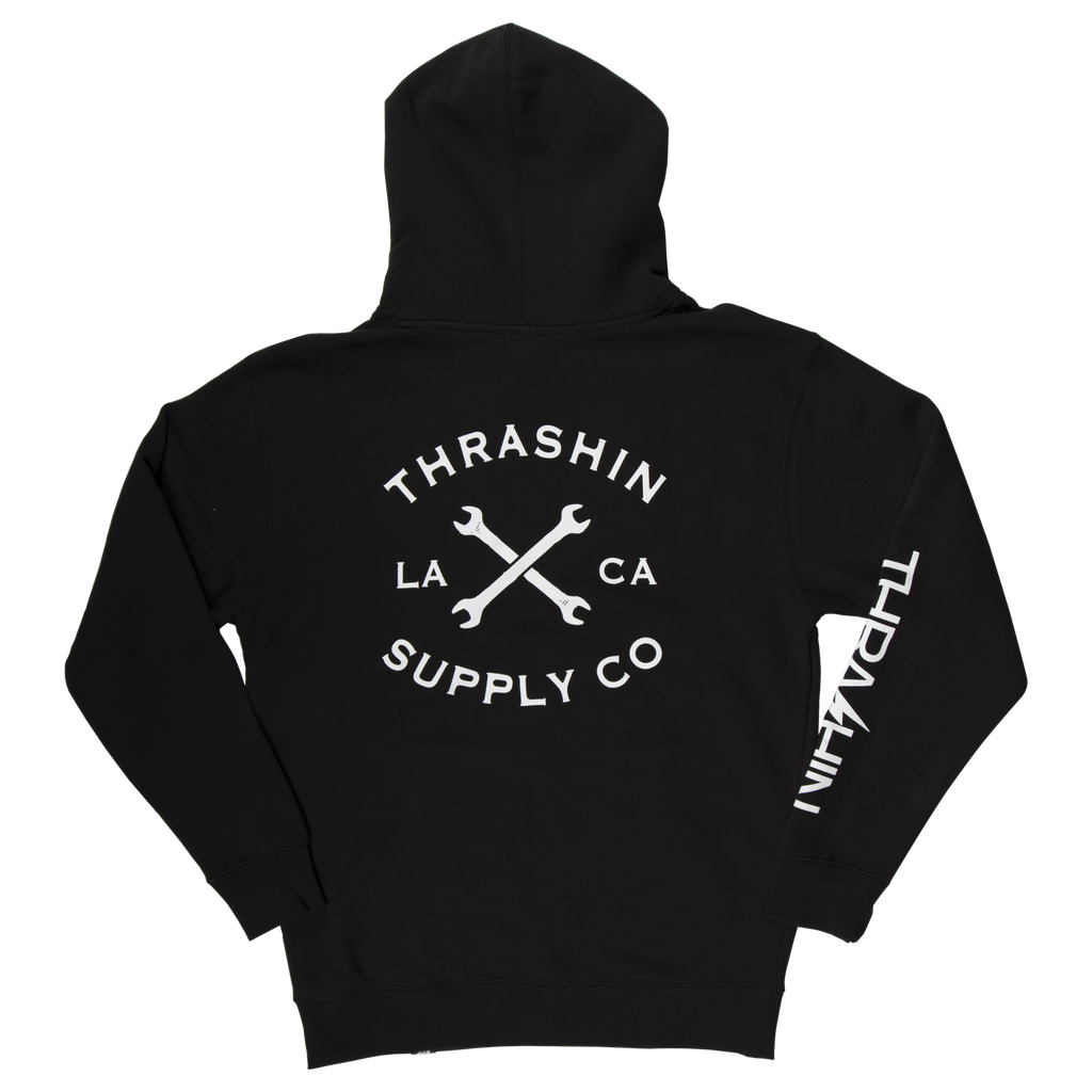 [Thrashin Supply Co.] Cross Wrench Hoodie クロスレンチ パーカー