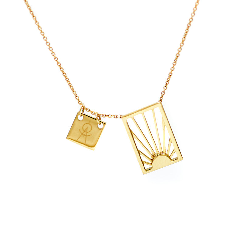 The Straits Limited Edition Necklace in 14k gold