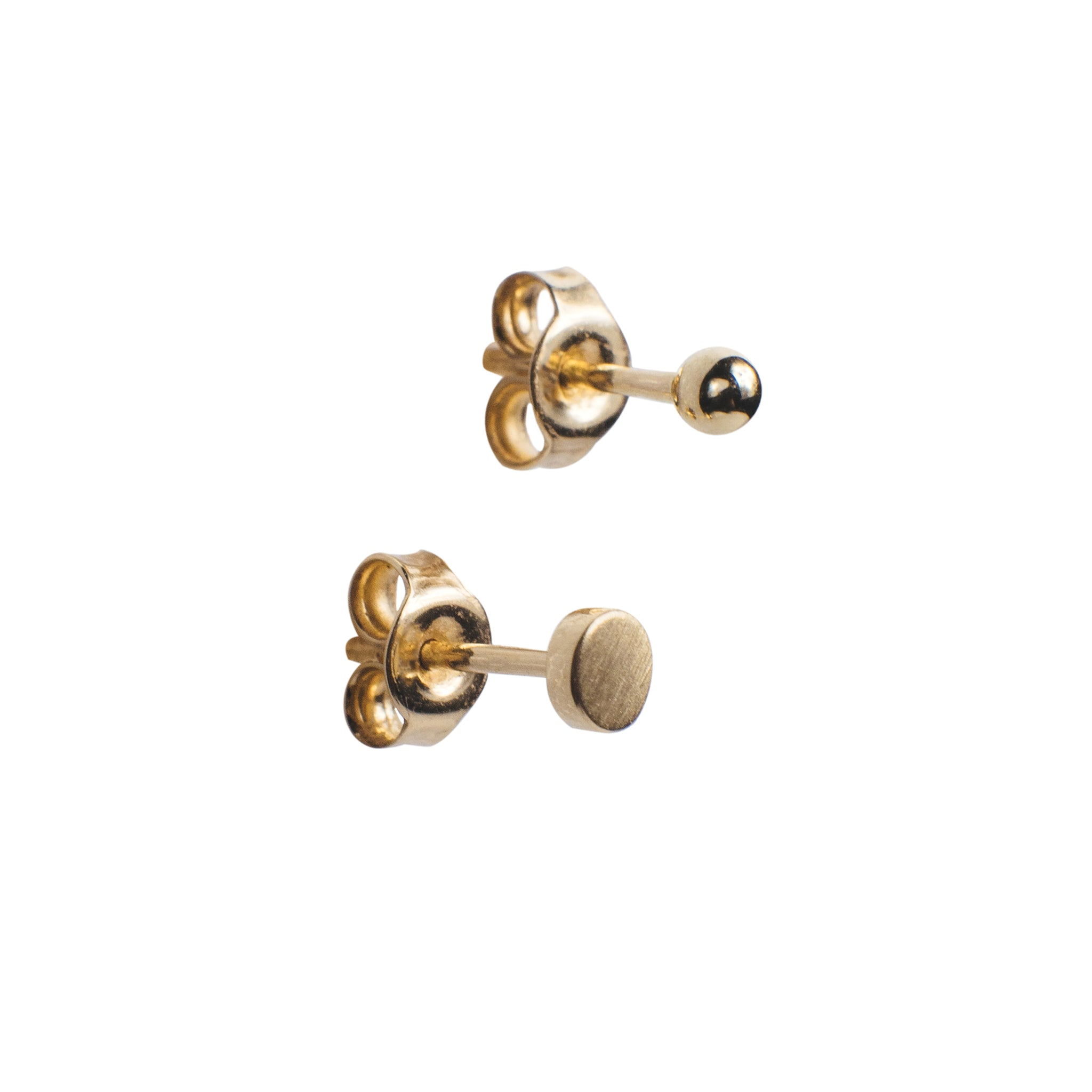 mismatched rose stud dittany selkie earrings products