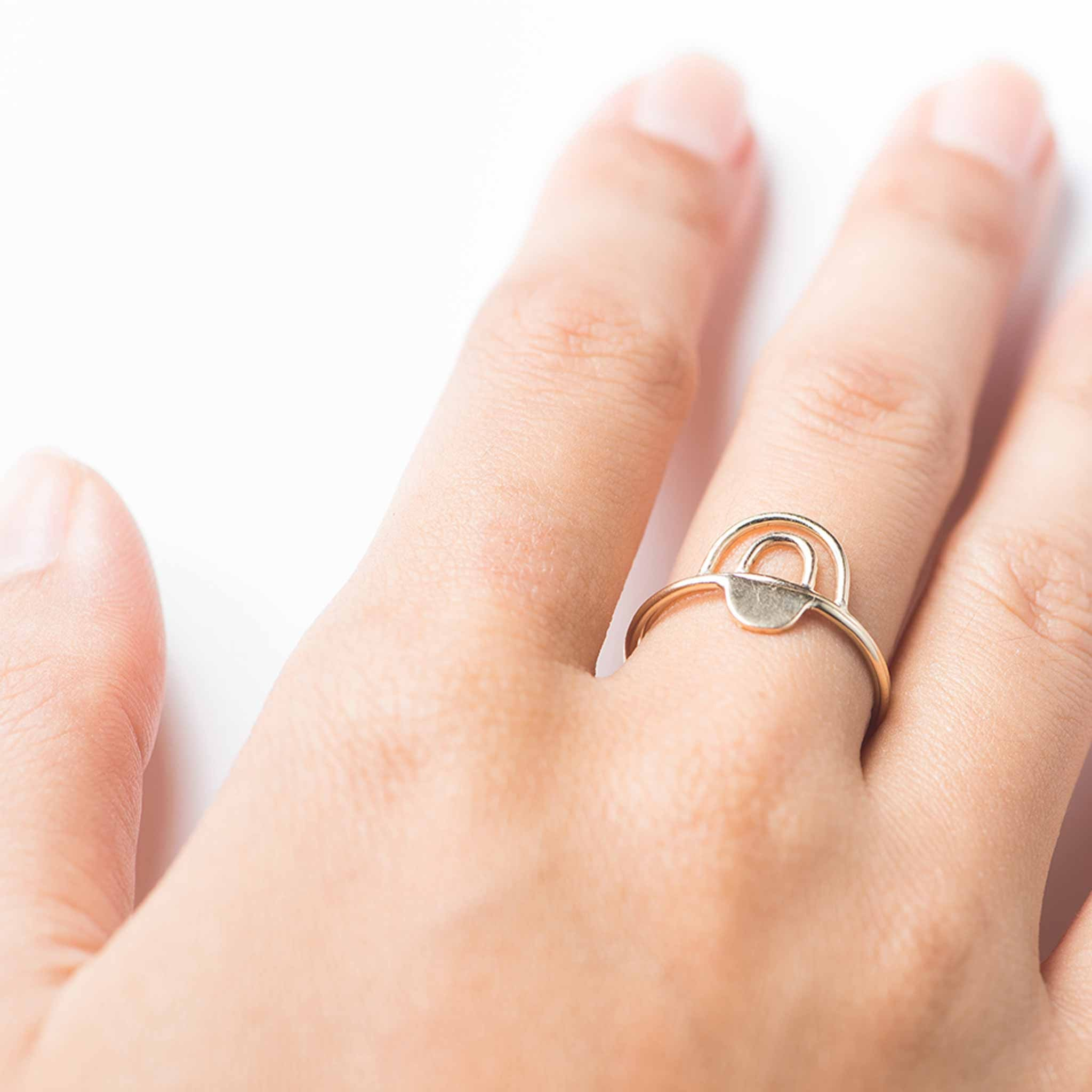Stacking ring combinations