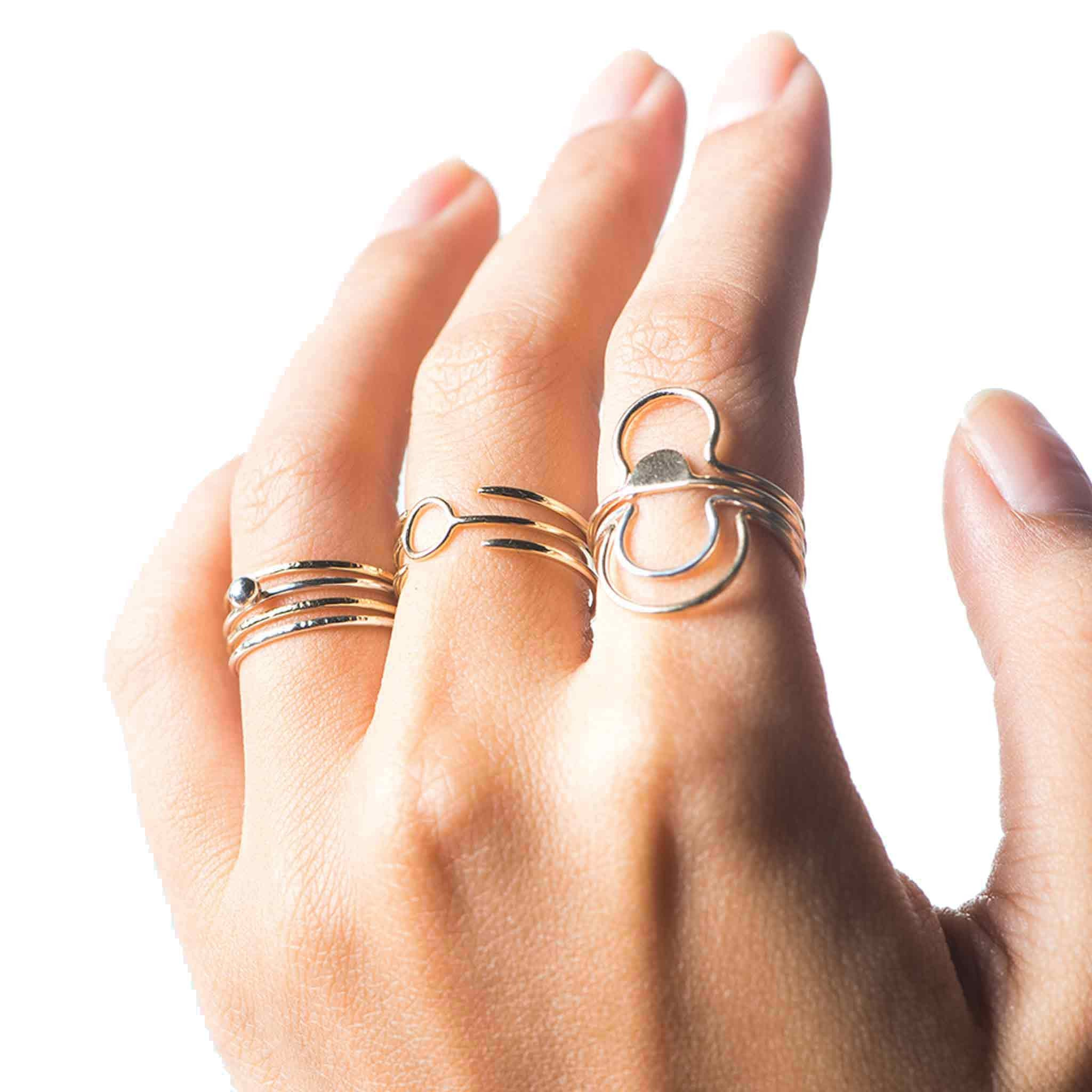 rings jewelry products parallax stackable