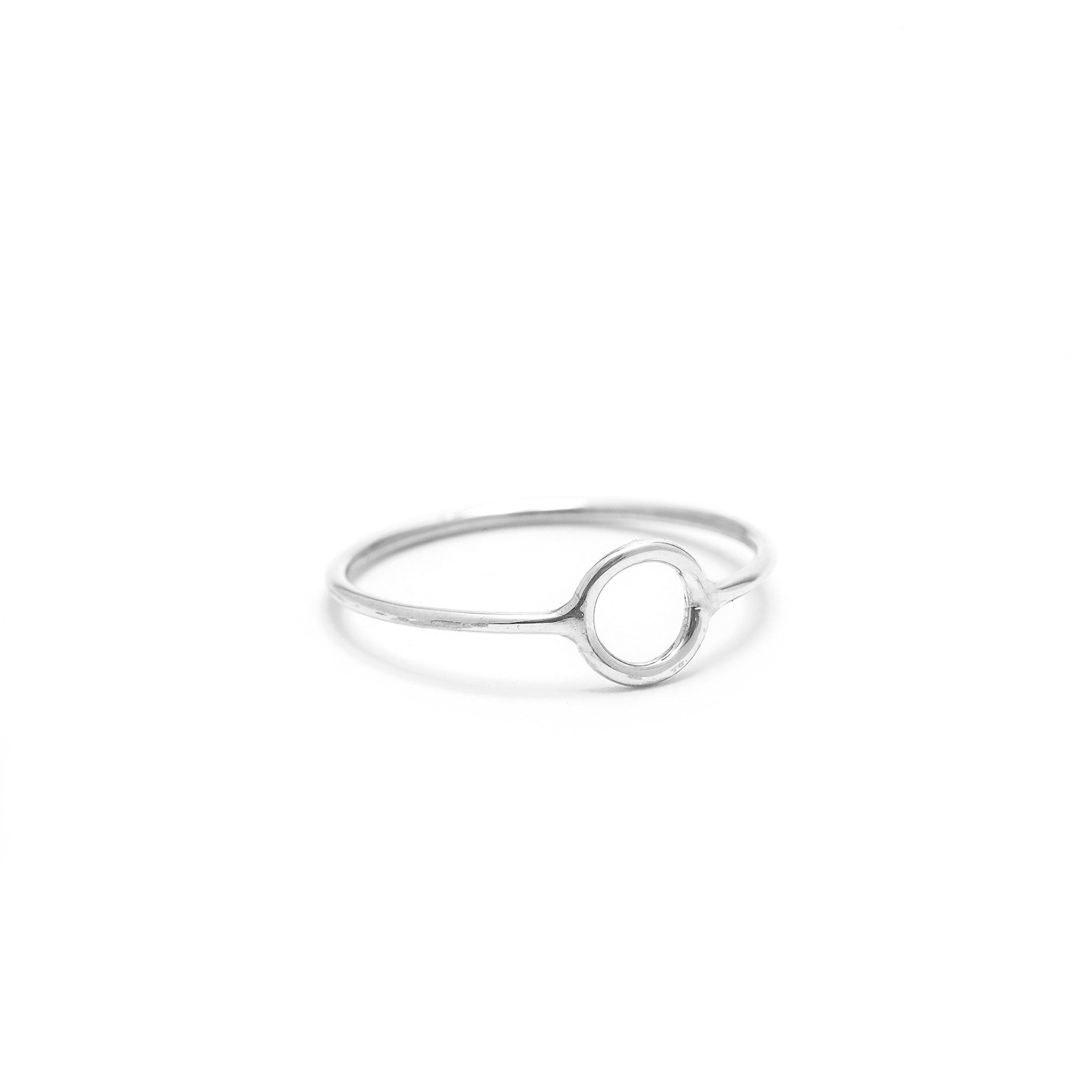 sterling silver eclipse ring