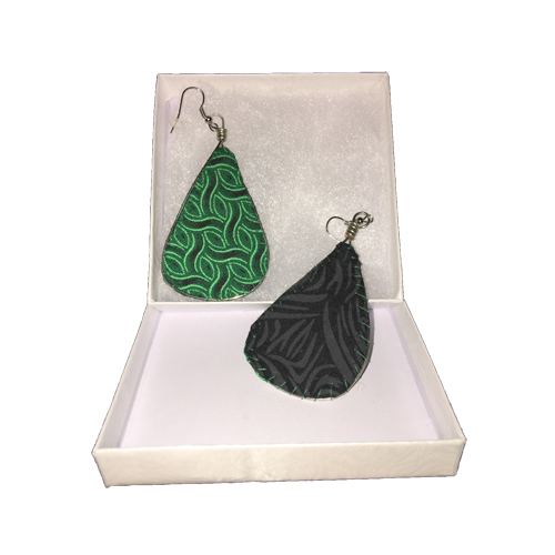 Emerald Current - Earrings