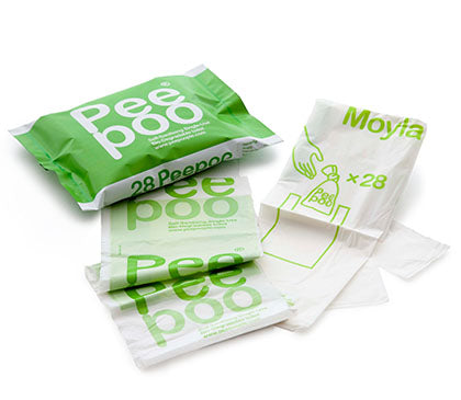 Peepoo pack of 28 bags