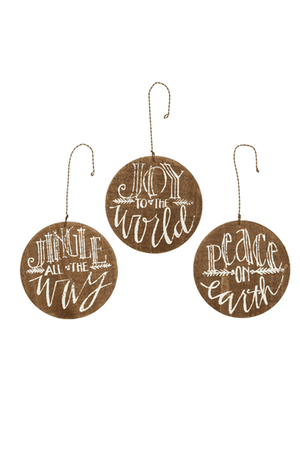 Barnwood Ornaments