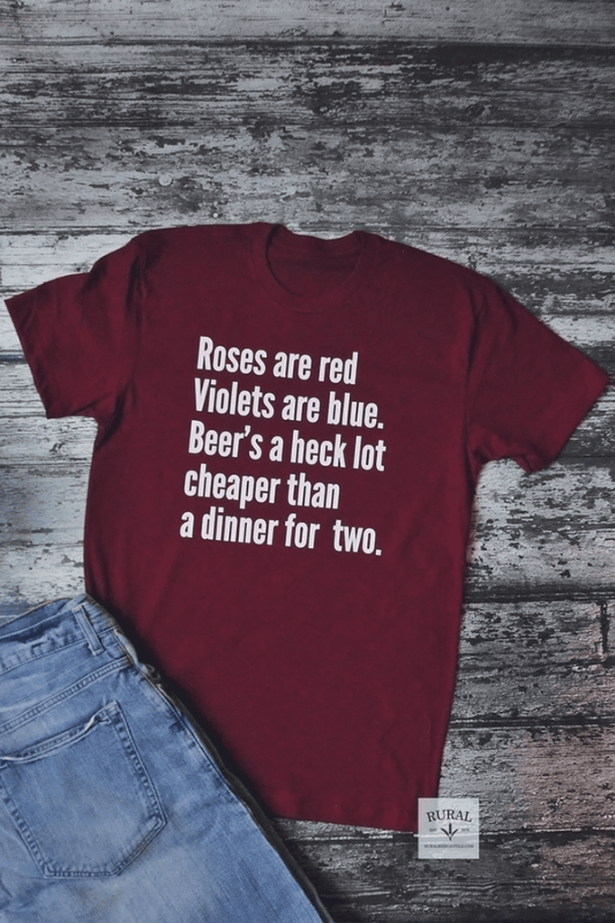 Beer's Cheaper | Graphic Tee