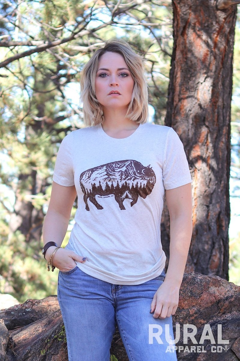 """Buffalo Outpost"" Graphic Tee"