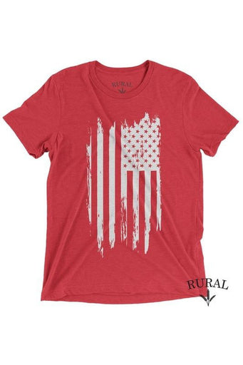 "Vintage Graphic T-shirt - Rural Red ""Freedom isn't Free"""
