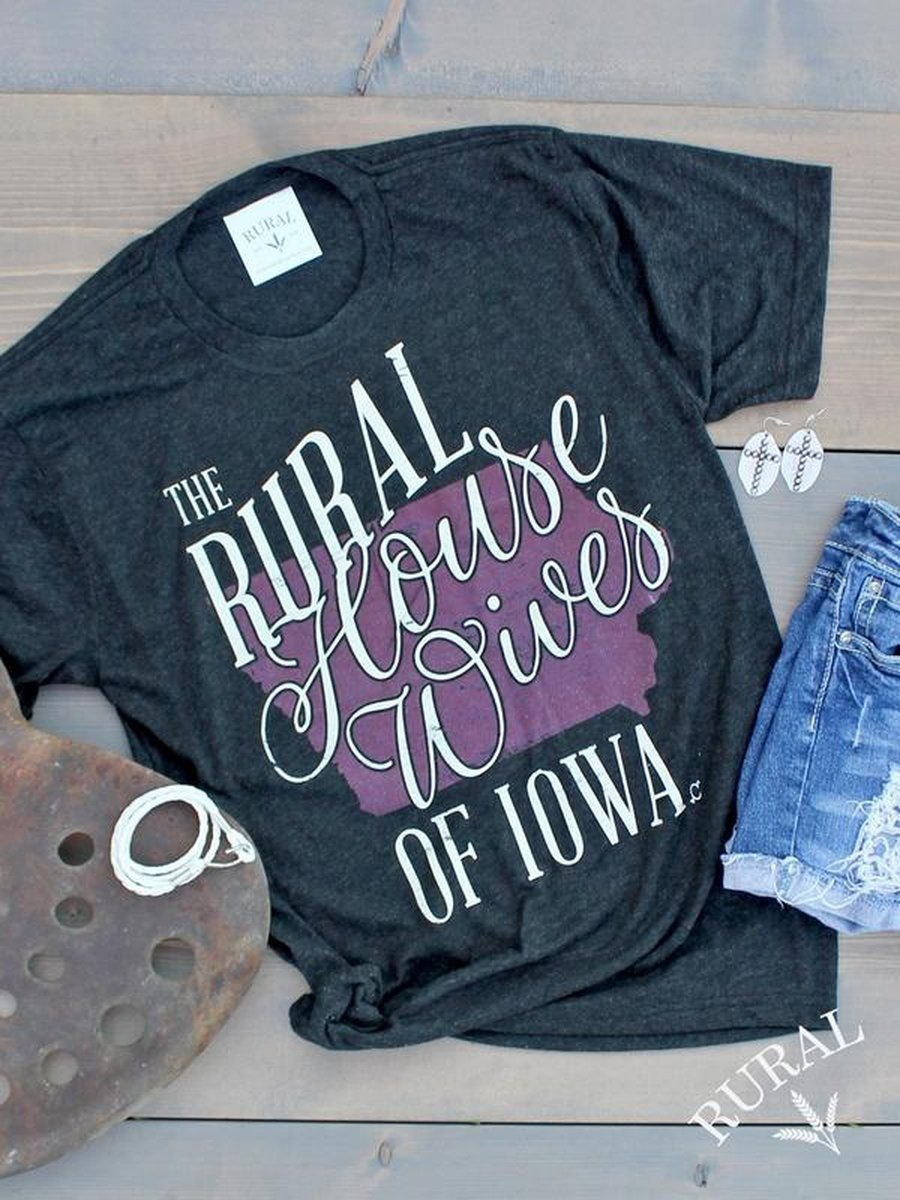 839805bfe828 Iowa Housewives Graphic T-Shirt