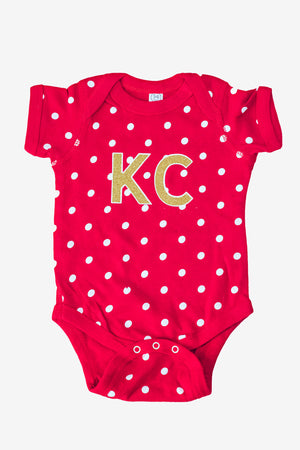 kansas city onesie, kc baby clothes
