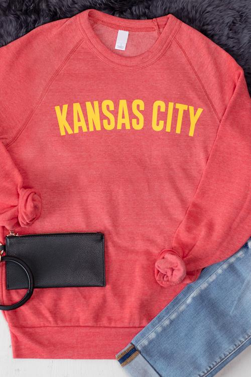 Kansas City Fleece Crew Neck Sweatshirt