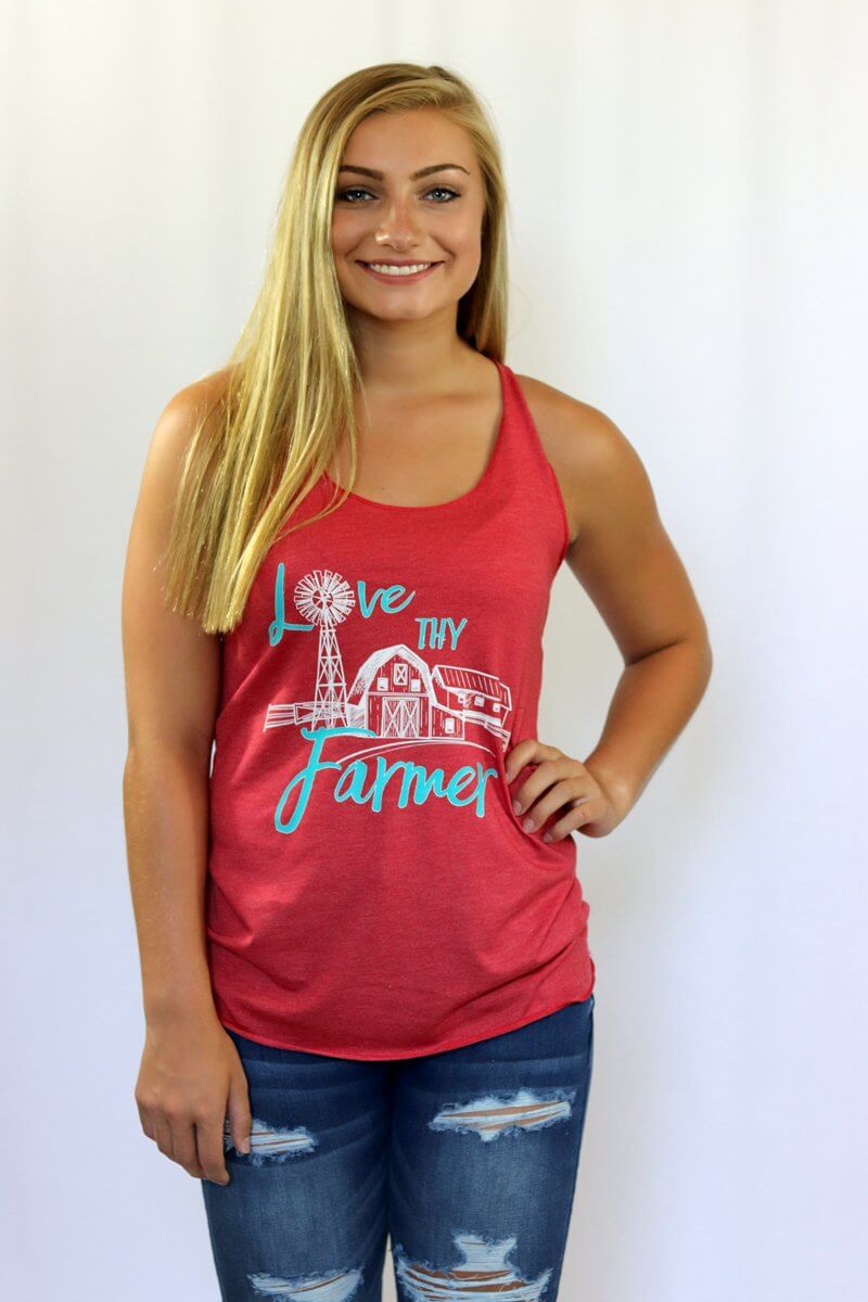 Love Thy Farmer Graphic Tank