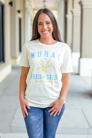 Rural Seed and Feed Graphic T-Shirt
