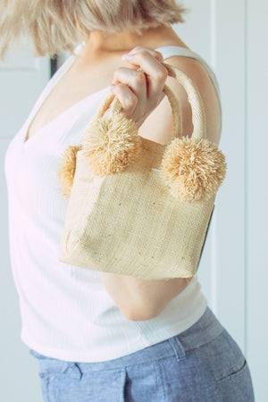Schooner Straw Mini Bag