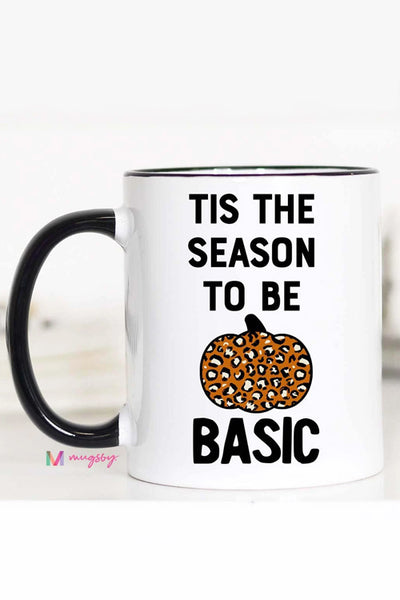 Tis the Season to be Basic Mug, basic bitch coffee mug, basic bitch accessories