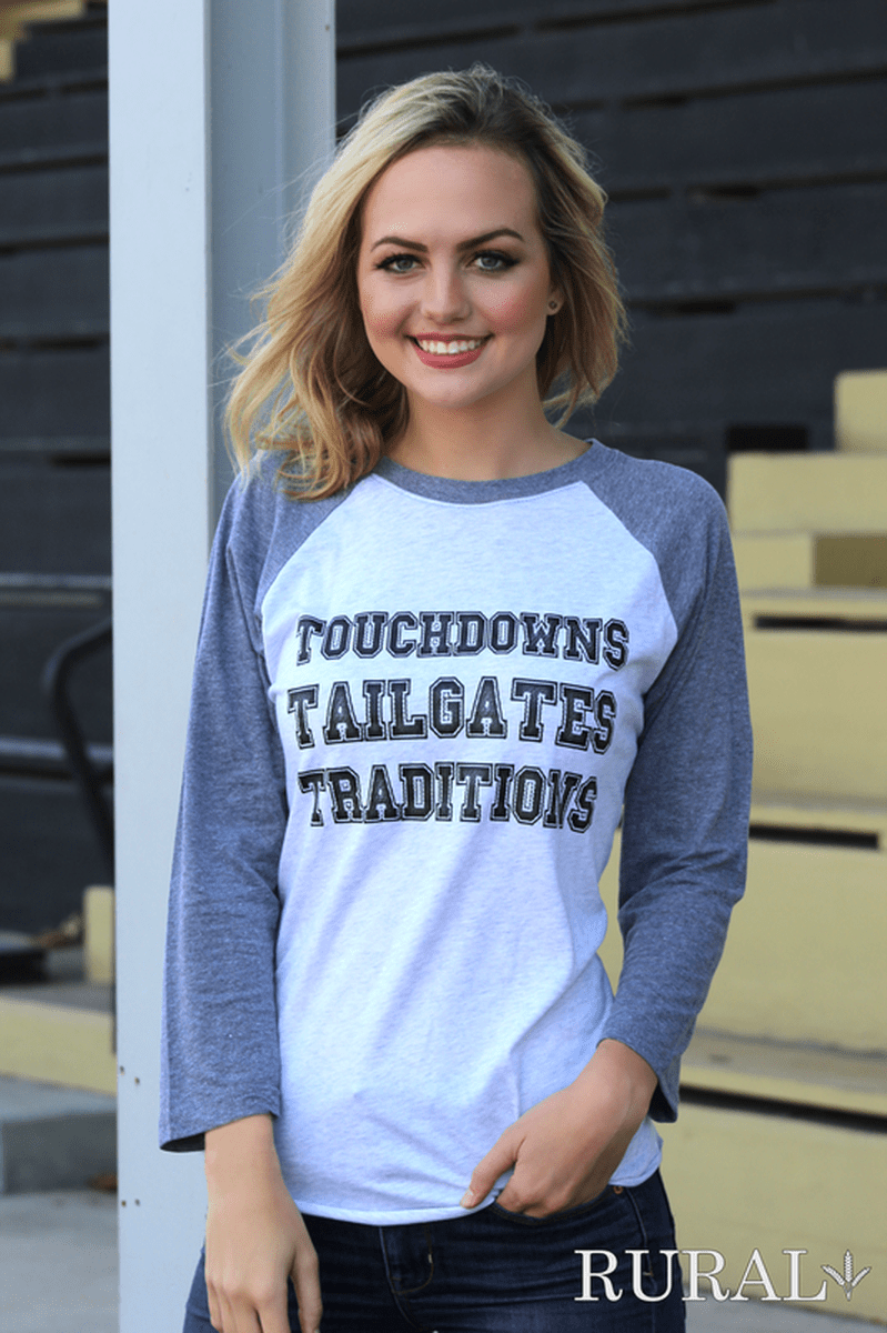 Touchdowns Tailgates Traditions Tee, Touchdowns Tailgates Traditions Shirt, Touchdowns Tailgates Traditions Tee, Touchdowns Tailgates Traditions Raglan, , Touchdowns Tailgates Traditions Football T-Shirt, Touchdowns Tailgates Traditions Football Top, Touchdowns Tailgates Traditions Football Shirt,  Women's Touchdown Football Tee, Women's Touchdown Football T-Shirt, Women's Touchdown Football Top, Women's Touchdown Football Shirt, Tailgating Tee, Tailgating Shirt, Tailgating Top, Tailgating Shirt