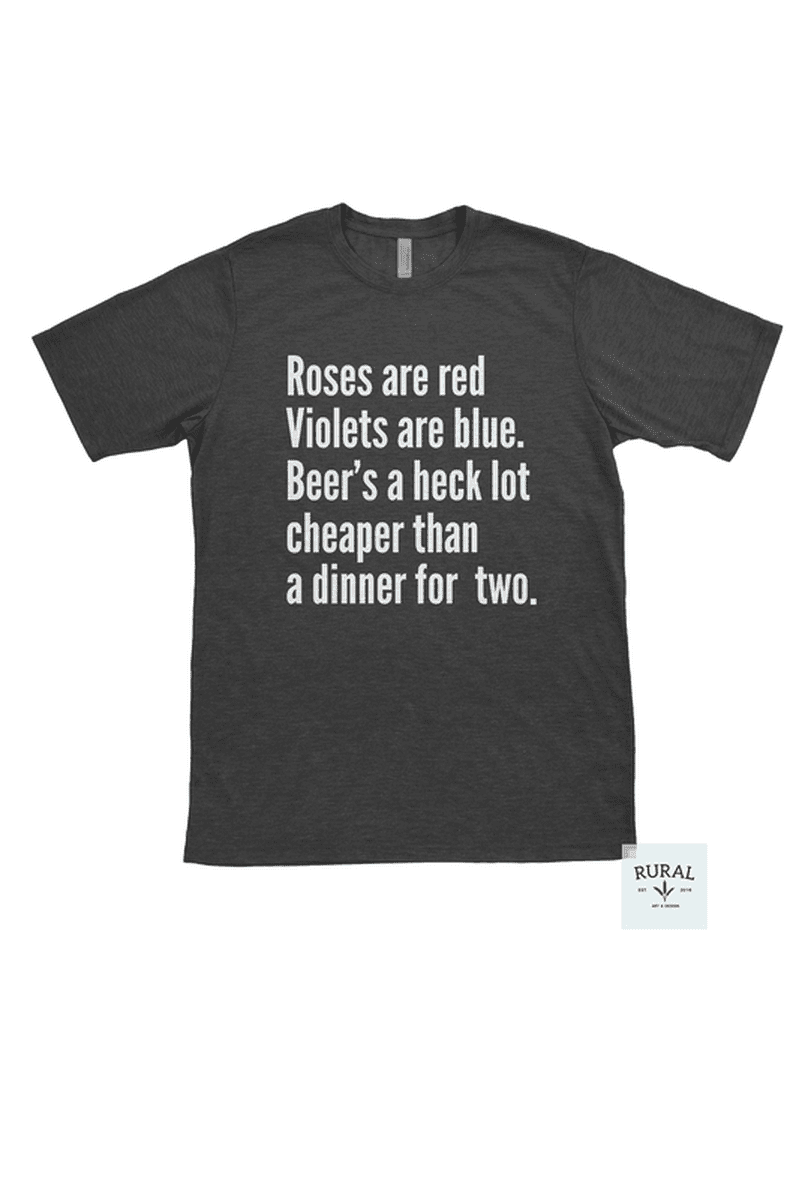 13ad2ddbeee7 Beer's Cheaper Graphic T-Shirt from RURAL Mercantile! | Beer T-Shirt