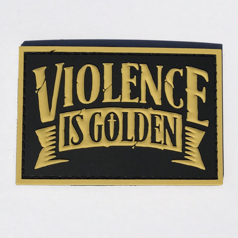 """Violence is Golden"" PVC Patch (Gen 2)"
