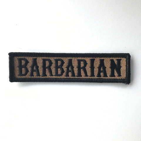 BARBARIAN PATCH - Coyote Brown