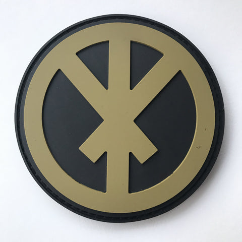 Conflict Bindrune PVC Patch (Velcro)