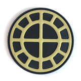 Bronze Age Sun Wheel Patch - PVC