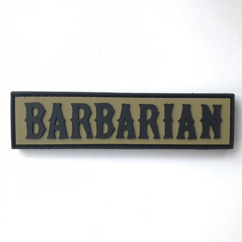 BARBARIAN PVC Patch (Velcro)