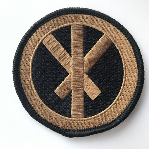 Conflict Bindrune Patch - Coyote Brown